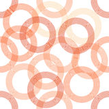 Seamless circle pattern Royalty Free Stock Photography