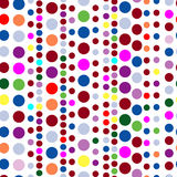 Seamless circle pattern Stock Images