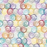 Seamless circle pattern Royalty Free Stock Photo