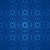 Seamless circle pattern dark blue single color Stock Image