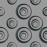 Seamless Circle Pattern Royalty Free Stock Photography
