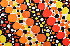 Seamless circle retro pattern background Royalty Free Stock Photography