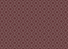 Seamless Circle Square Geometric Pattern Red Stock Photography