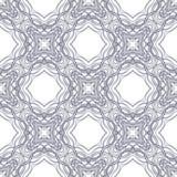 Seamless circle vintage flower pattern Stock Image