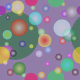 Seamless  with circles. Seamless background with colors circles Royalty Free Stock Image