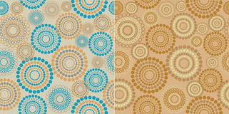 Seamless circles Stock Photos