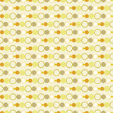 Seamless Circles Background Royalty Free Stock Image