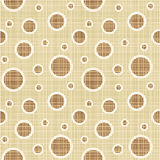 Seamless circles and dots pattern canvas Stock Photos