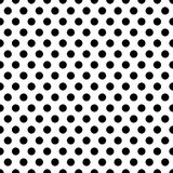 Seamless circles, dots pattern. Seamlessly repeatable polka dot stock illustration