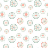 Seamless Circles pattern background Royalty Free Stock Photo