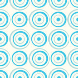 Seamless Circles Pattern Stock Photography