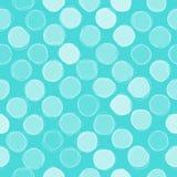 Seamless circles pattern Royalty Free Stock Photos