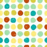 Seamless circles pattern Stock Photo