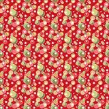 Seamless circles pattern geometric elements background Royalty Free Stock Image
