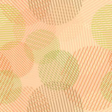 Seamless circles pattern. Stock Photos