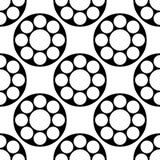 Seamless Circles Pattern Stock Image