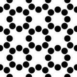 Seamless Circles Pattern Royalty Free Stock Photography