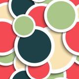 Seamless Circles Pattern Stock Photos