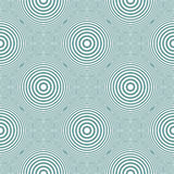 Seamless circles and rings pattern. Stock Photography