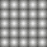 Seamless circlular black and white pattern Royalty Free Stock Photo