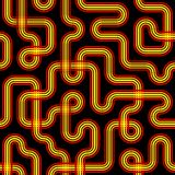Seamless Circuit Pattern stock photo