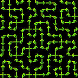 Seamless Circuit Pattern Royalty Free Stock Image