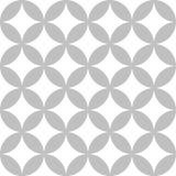 Seamless Circular Vector Pattern Design Royalty Free Stock Photography
