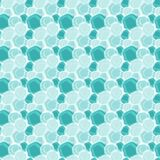 Seamless circular water spots background. Water spots forming modern circular and rounded shapes wallpaper background. Seamless tile Royalty Free Stock Images
