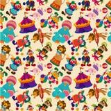 Seamless circus pattern Stock Image