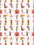 Seamless circus pattern Royalty Free Stock Images