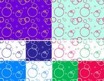 seamless cirkel Arkivbilder