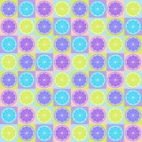 Seamless citrus pattern Royalty Free Stock Image