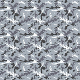 Seamless City Camouflage Pattern Royalty Free Stock Photography