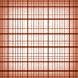 Seamless classic brown plaid vector Stock Image