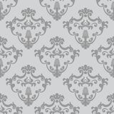 Seamless classic design vector wallpaper Stock Photography