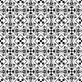 Seamless classic floral pattern Stock Photo