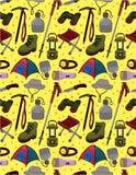 Seamless climb pattern Stock Photos