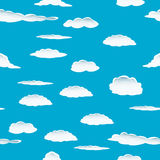 Seamless cloud background Royalty Free Stock Images