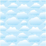 Seamless clouds Royalty Free Stock Photos