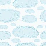 Seamless clouds Stock Photos