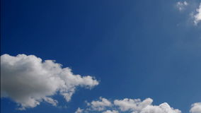 Seamless Clouds Timelapse stock video footage