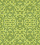Seamless Clover Damask Pattern Stock Image