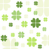 Seamless clover pattern Stock Images