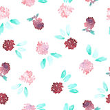 Seamless clover pattern Stock Photo