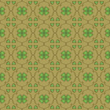 Seamless clover wallpaper Stock Images