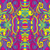 Seamless CMYK pattern Stock Images