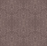 Seamless cocoa floral wallpaper Stock Photography