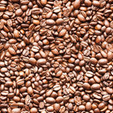 Seamless coffee background Royalty Free Stock Image