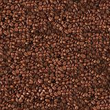 Seamless coffee beans background. Royalty Free Stock Images
