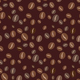 Seamless coffee pattern Royalty Free Stock Photography